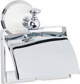Держатель туалетной бумаги TW Harmony с крышкой, белый-хром TWHA219bi/cr