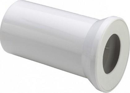 Соединительный белый пластиковый патрубок для унитаза, 400мм Viega 101831