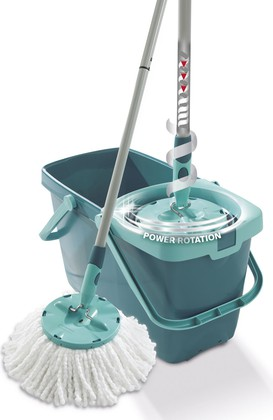Комплект для мытья пола швабра с отжимом Leifheit CLEAN TWIST MOP 52019