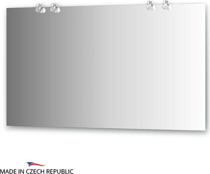 Зеркало со светильниками 130x75см Ellux CRY-D4 0216