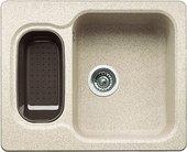 Кухонная мойка оборачиваемая без крыла с коландером, гранит, песочный Blanco NOVA 6 510854
