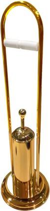 Стойка с аксессуарами для туалета, золото TW Harmony TWCV003oro
