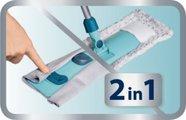 Швабра хозяйственная для пола с телескопической ручкой, 42см Leifheit Classic 55210
