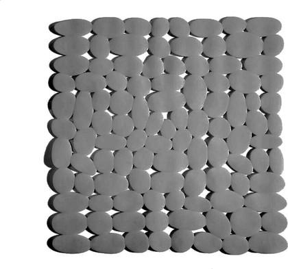 Коврик в ванну 54x54см, серый Spirella MARATHON 1012559