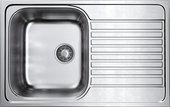 Кухонная мойка Omoikiri Kashiogawa 79-IN, оборачиваемая, матовая сталь 4993452