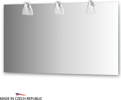 Зеркало со светильниками 130x75см Ellux ROM-A3 0216