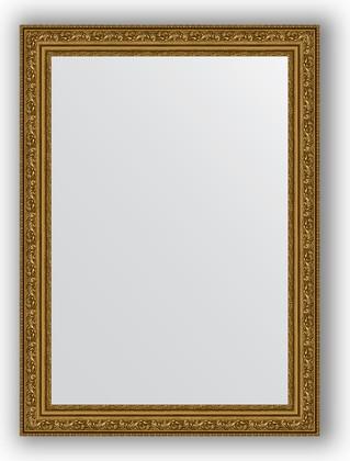 Зеркало в багетной раме 54x74см виньетка состаренное золото 56мм Evoform BY 3039
