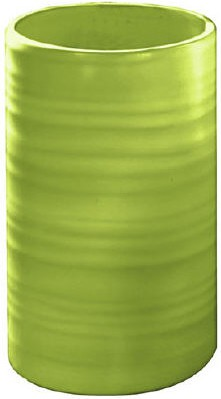 Стакан для зубных щёток керамический зелёный Kleine Wolke Sahara 5046625852