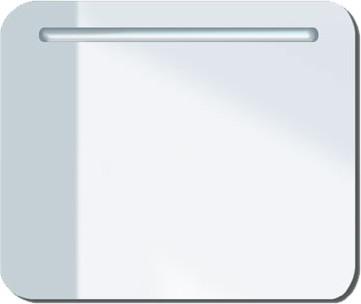 Зеркало с подсветкой 72x60см, белый глянцевый Duravit PuraVida 942185