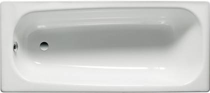 Стальная ванна белая 120x70см Roca CONTESA 212106001