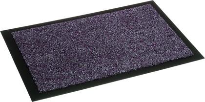 Коврик придверный 90x150см для помещения бордовый, полиамид Golze Zircon 630-71-41