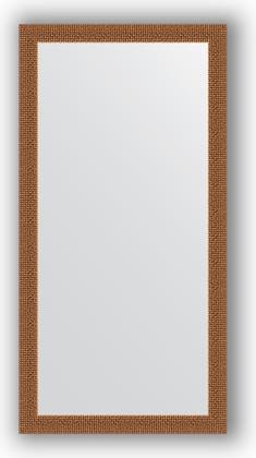 Зеркало в багетной раме 51x101см мозаика медь 46мм Evoform BY 3067