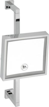 Зеркало косметическое настенное, 200х200мм, Bemeta 112201192
