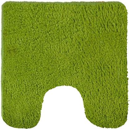 Коврик для туалета 50x50см зелёный Kleine Wolke Kansas 4018645150