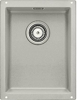 Кухонная мойка без крыла, с клапаном-автоматом, гранит, жемчужный Blanco SUBLINE 320-U 520644