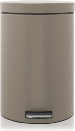Мусорный бак 20л с педалью, MotionControl, серо-коричневый Brabantia 425066