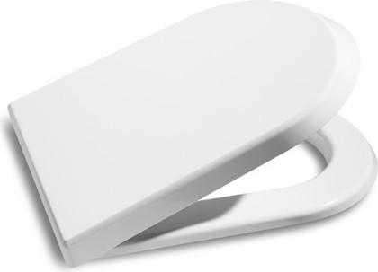 Сиденье для унитаза с крышкой, микролифт, белое Roca NEXO 80164А004