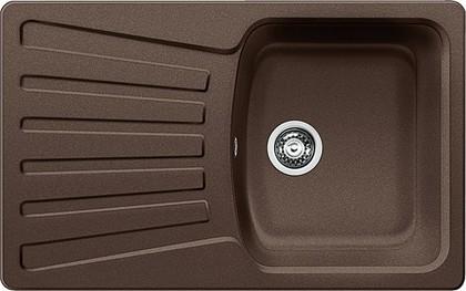 Кухонная мойка оборачиваемая с крылом, гранит, кофе Blanco Nova 45 S 515015