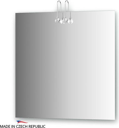 Зеркало 75x75см со светильниками Ellux CRY-C2 0210