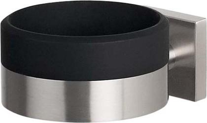 Держатель для фена матовая сталь / чёрный Spirella NYO 1015564