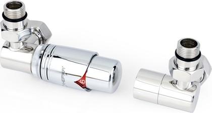 """Автоматический терморегулятор 3D левый G1/2"""" x G3/4"""" Сунержа 00-1421-0000"""