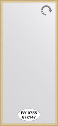 Зеркало 67x147см в багетной раме сосна Evoform BY 0755