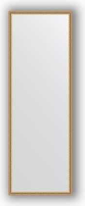 Зеркало 48x138см в багетной раме витое золото Evoform BY 0709