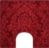 Коврик для туалета Grund Tournai, 55x55см, полиакрил, красный b3316-05007