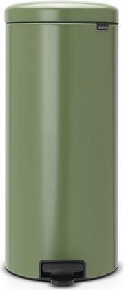 Мусорный бак с педалью 30л, зеленый мох Brabantia Newicon 114304