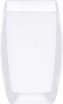 Стакан для зубных щёток белый Spirella Freddo 1016088