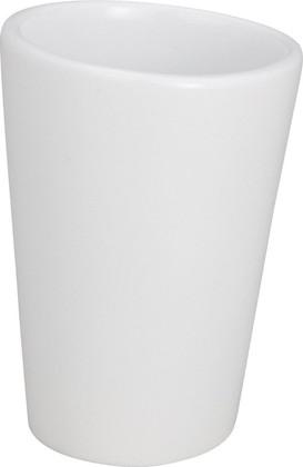 Стакан белый Wenko Pebble Stone 19495100
