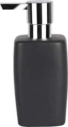 Ёмкость для жидкого мыла керамическая чёрная Spirella Retro 1008077