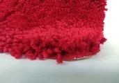 Коврик для ванной 70x120см красный Spirella HIGHLAND 1013074