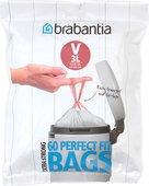 Мешки для мусора 3л, размер V, 60шт. Brabantia PerfectFit 116803
