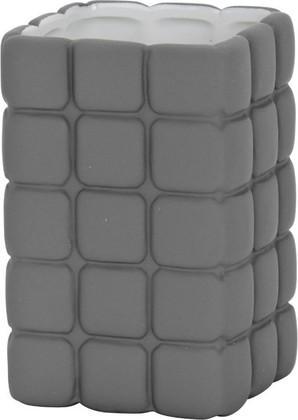 Стакан серый Wenko Cube 20169100