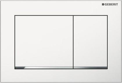 Клавиша двойного смыва, белый / хром Geberit Omega30 115.080.KJ.1