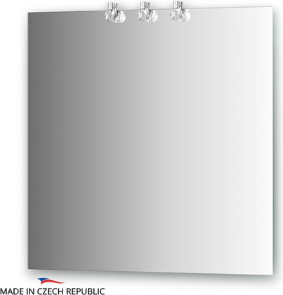 Зеркало 75х75см со светильниками Ellux CRY-D3 0210