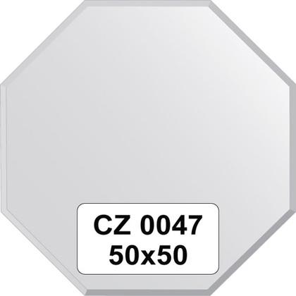 Зеркало для ванной 50x50см с фацетом 10мм FBS CZ 0047