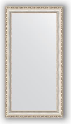 Зеркало в багетной раме 55x105см версаль серебро 64мм Evoform BY 3078