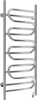 Полотенцесушитель электрический Сунержа Иллюзия 1200x500, полированная сталь 00-0545-1250