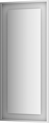 Зеркало 60x140 в багетной раме со встроенным LED-светильником Evoform BY 2215