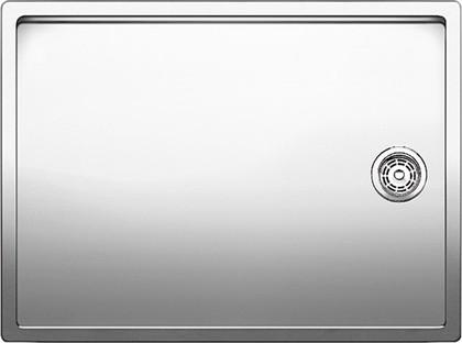 Кухонная мойка без крыла, нержавеющая сталь зеркальной полировки Blanco Claron 550-T-U 517276