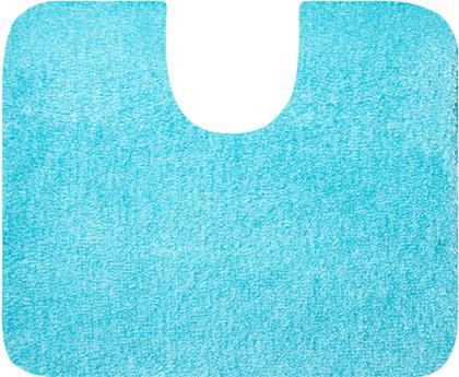 Коврик с вырезом под туалет 60x50см голубой Grund Lex 2622.06.4174