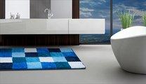 Коврик для ванной 60x100см синий Grund Bona 3496.16.247