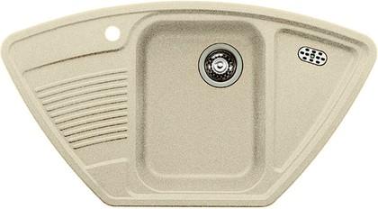 Кухонная мойка с крылом, гранит жасмин Blanco Classic 9 E 521341