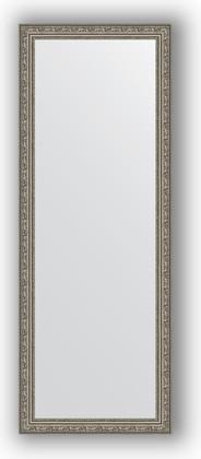 Зеркало в багетной раме 54x144см виньетка состаренное серебро 56мм Evoform BY 3104