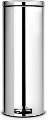 Мусорный бак 20л высокий с педалью, MotionControl, сталь полированная Brabantia Slim 478581