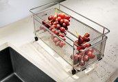 Кухонная мойка без крыла, с клапаном-автоматом, гранит, алюметаллик Blanco Subline 700-U 515773