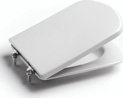 Сиденье-крышка для унитаза, микролифт, белая Roca DAMA SENSO ZRU9000041