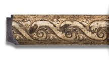 Зеркало 66x156см с фацетом 30мм в багетной раме фреска Evoform BY 1289